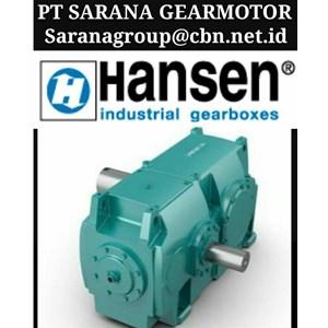 PT SARANA GEARBOX BROOK HANSEN GEARBOX - BROOK INDUSTRIAL GEARBOXES