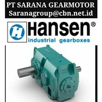 BROOK HANSEN TRANSMISSION GEARBOX PT SARANA GEAR MOTOR BROOK INDUSTRIAL