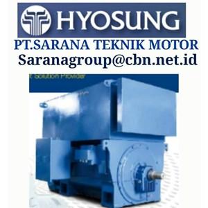 HYOSUNG ELECTRIC IEC MOTOR MEDIUM VOLTAGE MADE IN KOREA PT SARANA TEKNIK