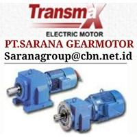 PT SARANA TRANSMAX HELICAL AC GEARED MOTOR  GEAR M