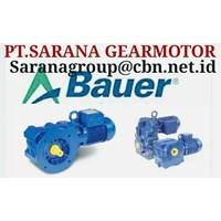 gearbox PT SARANA GEAR MOTOR BAUER GEAR MOTOR  GEA