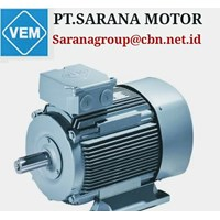 VEM ELECTRIC AC MOTOR PT SARANA TEKNIK MOTOR LOW VOLTAGE