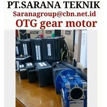OTG COMPACT GEAR MOTOR PT SARANA GEAR MOTOR