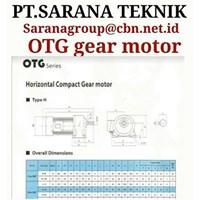 Jual OTG HELICAL  COMPACT GEAR MOTOR PT SARANA GEAR MOTOR  2