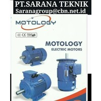 MOTOLOGY ELECTRIC AC MOTOR  PT SARANA GEAR MOTOR FOOT MOUNTED