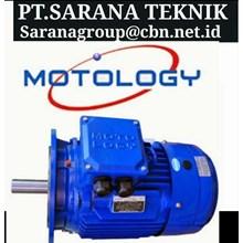 PT SARANA GEARBOX MOTOR MOTOLOGY ELECTRIC AC MOTOR   FOOT MOUNTED