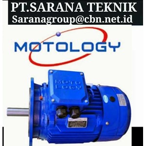 PT SARANA GEARBOX MOTOR MOTOLOGY ELECTRIC AC MOTOR   FOOT MOUNTED