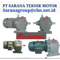ELECTRIC MOTOR LIMING GEAR MOTOR GEAR REDUCER PT SARANA TEKNIK 1