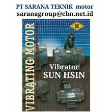 SUN HSIN VIBRATOR MOTOR VIBRATION PT SARANA TEKNIK MOTOR