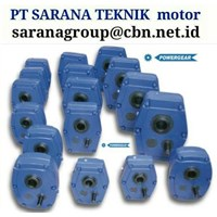 POWERGEAR SHAFT MOUNTED SPEED GEAR REDUCER GEARBOX PT SARANA TEKNIK