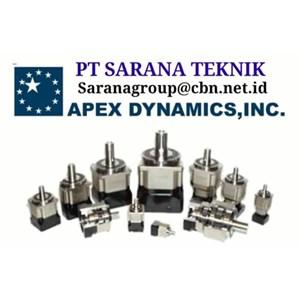 agent APEX DYNAMICS GEARMOTOR REDUCER GEARBOX PT SARANA TEKNIK motor