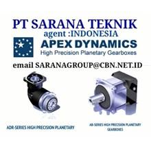 agen HIGH PRECISION APEX DYNAMICS planetary gearboxes  PT SARANA TEKNIK