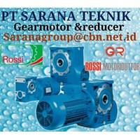ROSSI GEARBOX PT SARANA TEKNIK ROSSI GEARMOTOR & REDUCER
