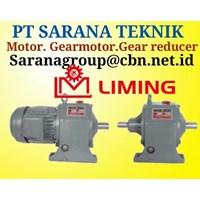 pt sarana motor LIMING GEARMOTOR REDUCER GEARBOX