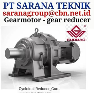 BWD Series Guomao PT Sarana Teknik cyclogear reducer gearmotor