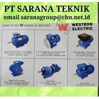 Western Electric Motor PT Sarana Teknik