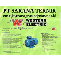 Western Electric Gearbox Motor PT Sarana Teknik