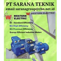 Western Electric Motor High Eficiency PT Sarana Teknik