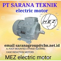 MEZ Motor Cage Induction PT Sarana Teknik