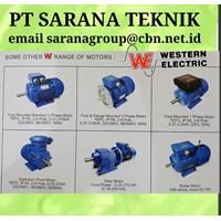 AC Motor PT SARANA TEKNIK WESTERN DINAMO 3 PHASE