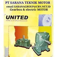 PT SARANA TEKNIK Gearbox Motor GEAR REDUCER UNITED