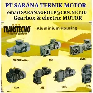 Gearbox Motor TRANSTECNO GEARMOTOR PT SARANATEKNIK