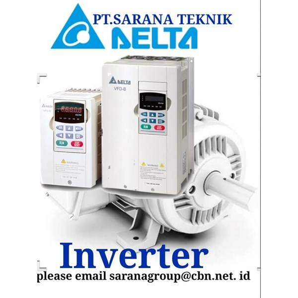 INVERTER DELTA DRIVE FOR MOTOR AC PT SARANA TEKNIK INVERTER