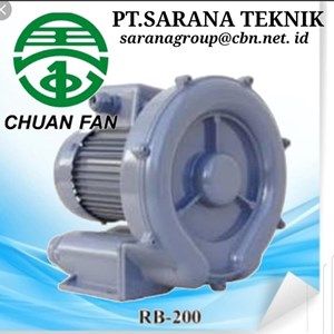 SIDE CHANEL CHUAN FAN ELECTRIC RING BLOWER TURBO PT SARANA TEKNIK