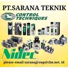 COMMANDER CONTROL TECHNIQUES NVERTER NIDEC PT SARANA TEKNIK - SERVO MOTOR 1