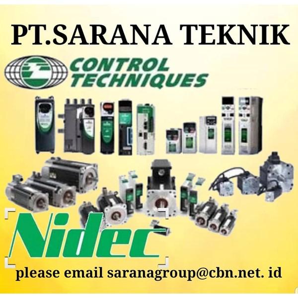 COMMANDER CONTROL TECHNIQUES NVERTER NIDEC PT SARANA TEKNIK - SERVO MOTOR