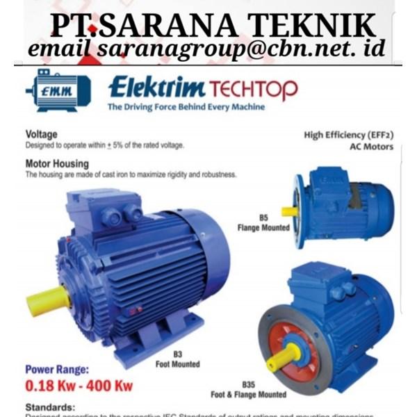 Elektrik motor Elektrim Techtop PT Sarana Teknik