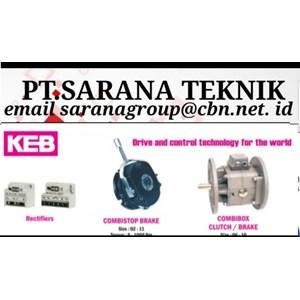 Rectifiers Combistop Brake Combi Box Clutch KEB PT Sarana Teknik