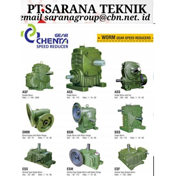 Gear Chenta Speed Reducer PT Sarana Teknik