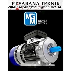 Electric Motor MGM PT Sarana Teknik