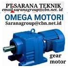 Gear Motor Omega Motori PT Sarana Teknik 1