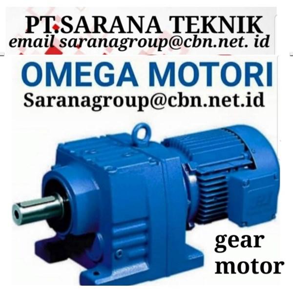 Gear Motor Omega Motori PT Sarana Teknik