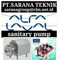 LKH CENTRIFUGAL PUMPS ALFA LAVAL SANITARY PUMP FOR FOOD & BEVERAGES INDUSTRI - PT.SARANA PUMP FOR FOOD AND BEVERAGES TYPE LKH
