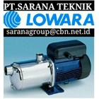LOWARA PUMP - PT SARANA TEKNIK CENTRIFUGAL LOWARA PUMP submersible lowara pump 1