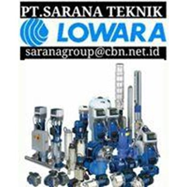 LOWARA SUBMERSIBLE PUMP INDONESIA  PT. SARANA TEKNIK