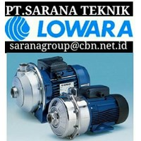 LOWARA PUMP - PT SARANA TEKNIK CENTRIFUGAL LOWARA PUMP submersible lowara PUMPS