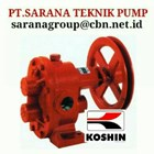 KOSHIN GEAR PUMP SERIES GB GL GC PT SARANA PUMP KOSHIN GEAR PUMP FOR OIL 1