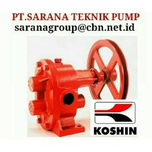 Dari KOSHIN GEAR PUMP SERIES GB GL GC PT SARANA PUMP KOSHIN GEAR PUMP FOR OIL 1