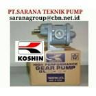 KOSHIN PUMP  TYPE GB GL GC GEAR PUMP SERIES GB GL GC PT SARANA PUMP KOSHIN GEAR PUMP FOR OIL 1