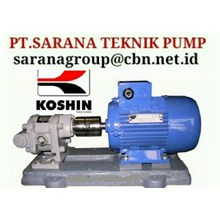 pt sarana KOSHIN GEAR PUMP SERIES GL GB GC PT SARANA TEKNIK PUMP KOSHIN GEAR PUMP