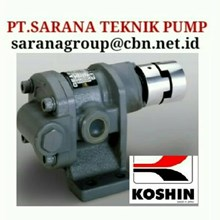 KOSHIN GEAR PUMP SERIES GL GB GC PT SARANA TEKNIK PUMP KOSHIN GEAR PUMPs koshin oriental