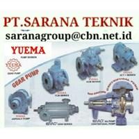 PT SARANA YUEMA GEAR PUMP KCB  YUEMA GEAR PUMP KCB CENTRIFUGAL PUMP KCB YCB G3A JAKARTA INDONESIA