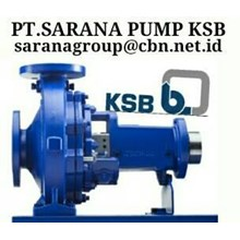 KSB PUMP CENTRIFUGAL PT SARANA PUMP KSC GEAR PUMP CENTRIFUGAL SUBMERSIBLE PUMP KSB JAKARTA INDONESIA