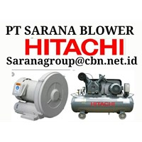 HITACHI BLOWER VORTEX RB PT SARANA TEKNIK AIR COMPRESSOR BEBICON 1