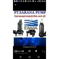 PT SARANA PUMP EBARA SERI DL  SUBMERSIBLE PUMP EBARA