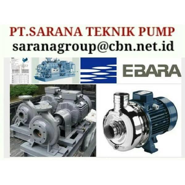 PT SARANA EBARA PUMP Centrifugal Pump Type Fs Merk Ebara
